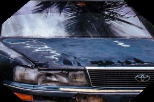 scrap car icon